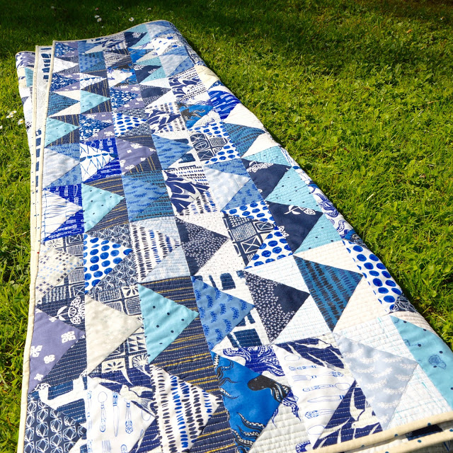 Bluebird Quilt Cotton&Steel