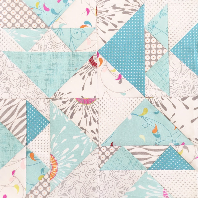 Foundation Paper Piecing Flying Geese