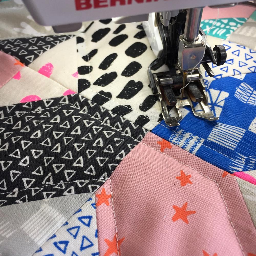 Das Quilten Printshop Kissen