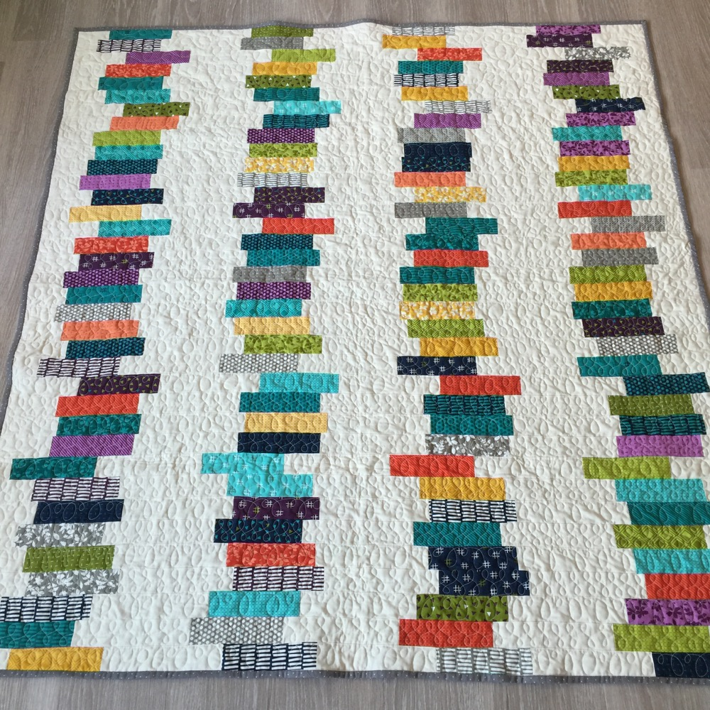 Ute Quilt lalala patchwork Kundenquilts