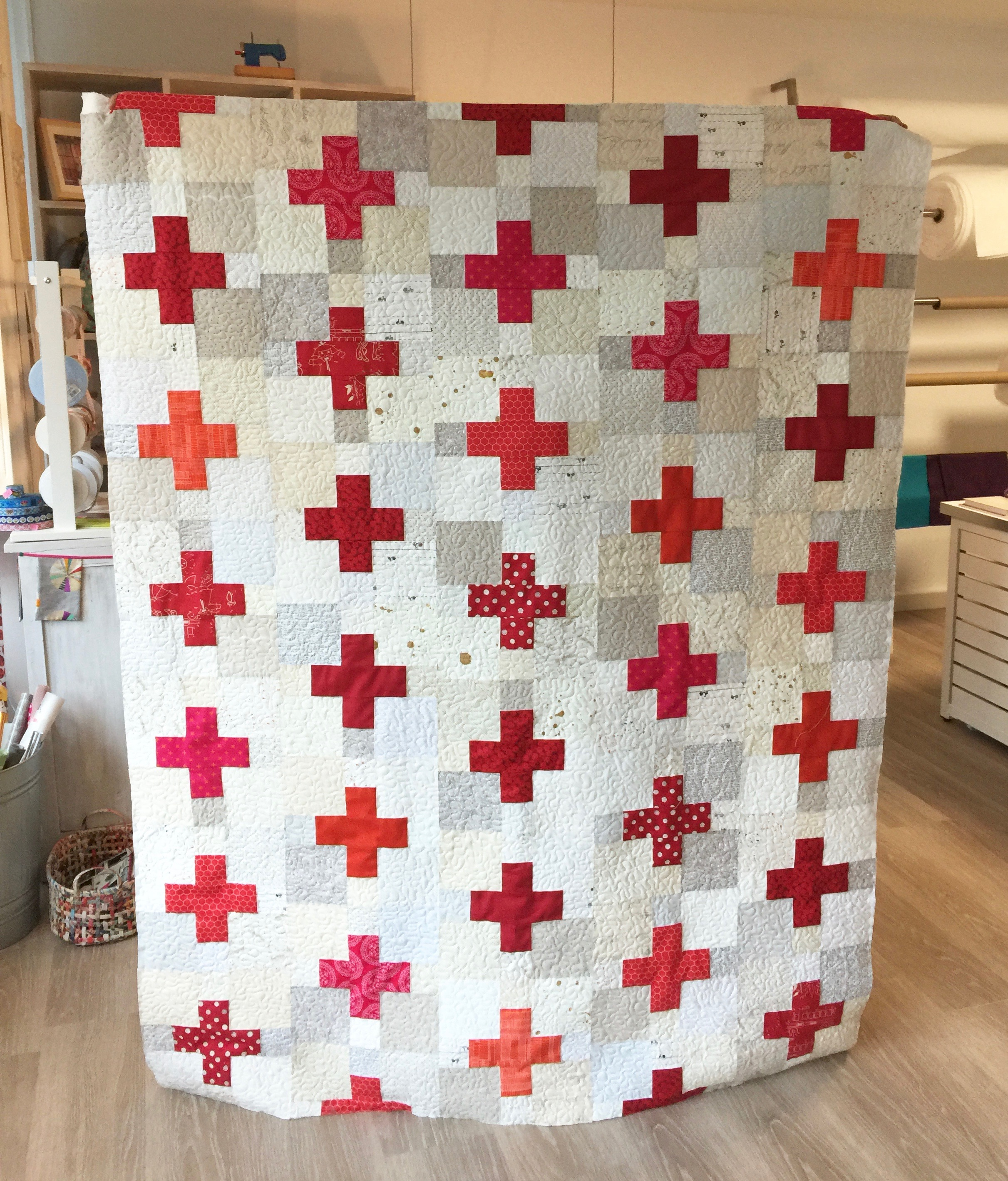 Quilt Annette Zehnpfennig Plus Cross