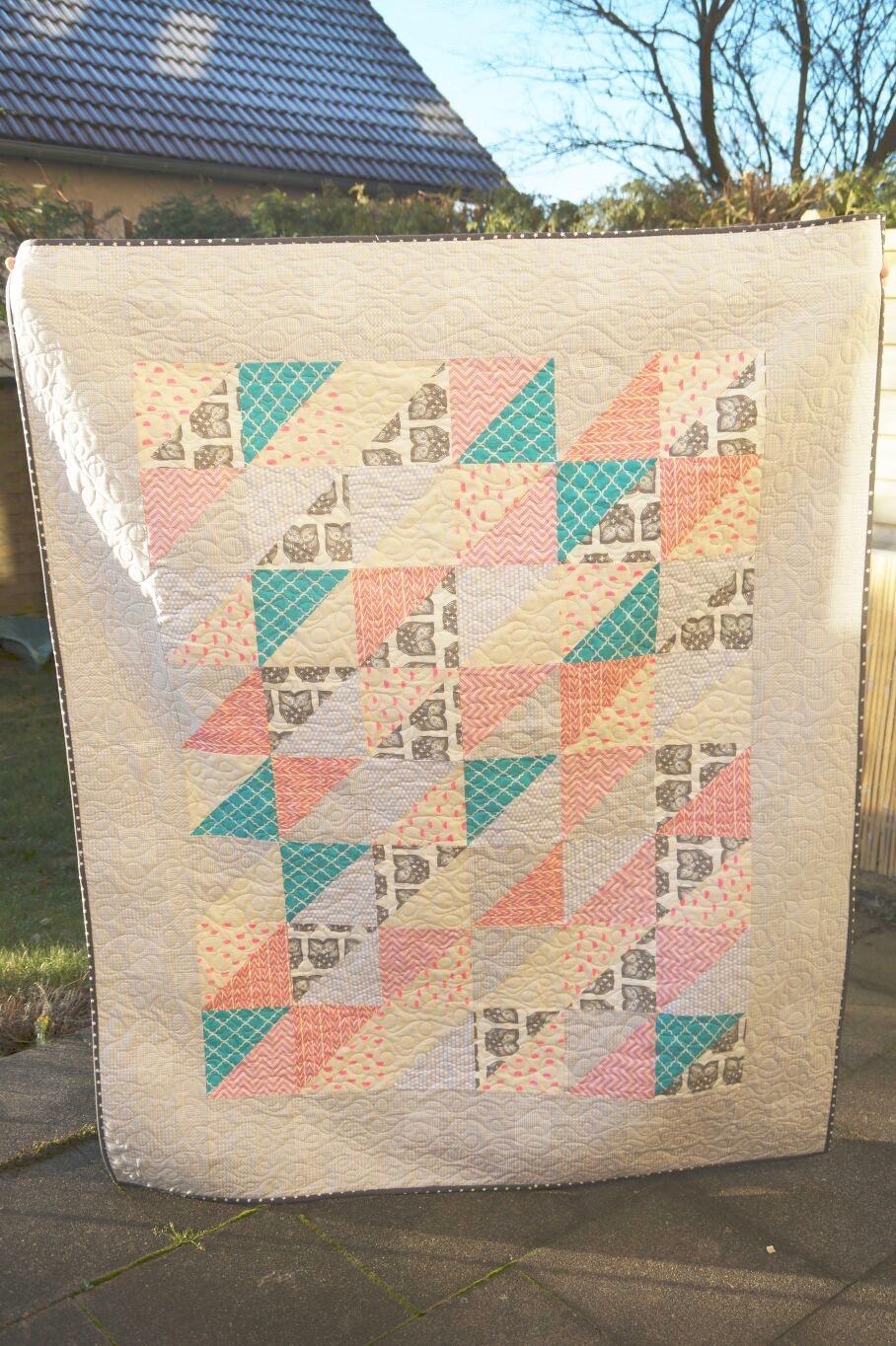 Schnelle Dreiecke Quilt von Jule Thuir