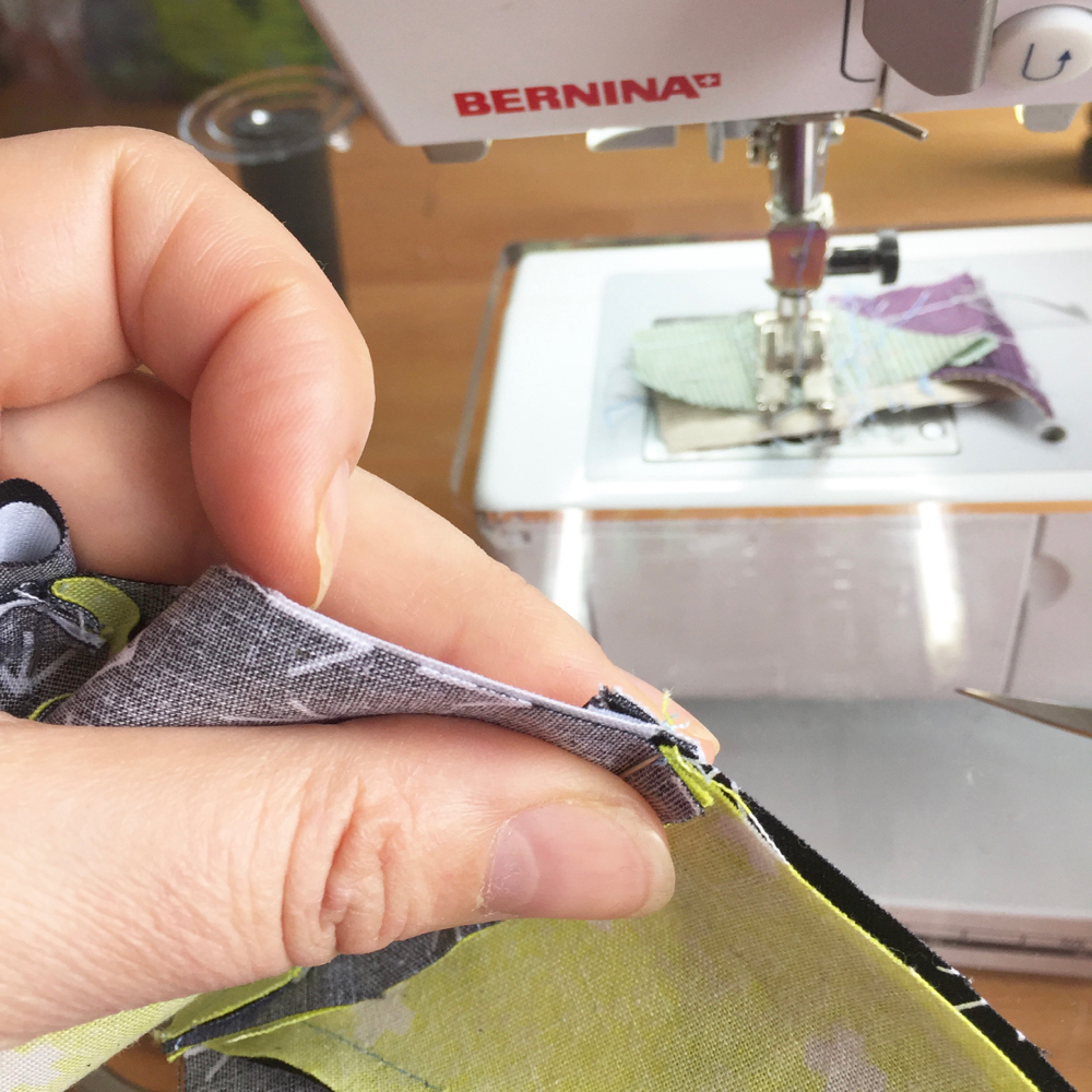 Nahtzugabe nesten ineinander www.lalalala-patchwork.de
