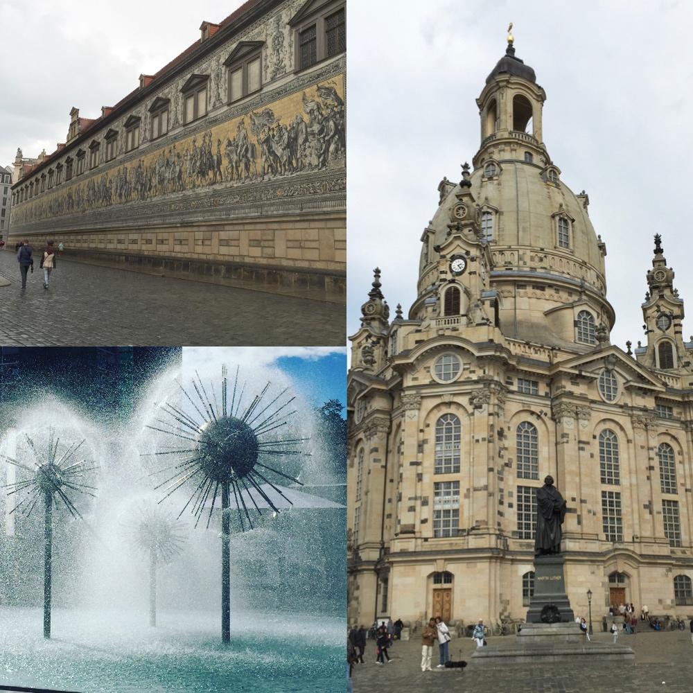 Dresden Bilder und Erinnerungen - Dresden Plate