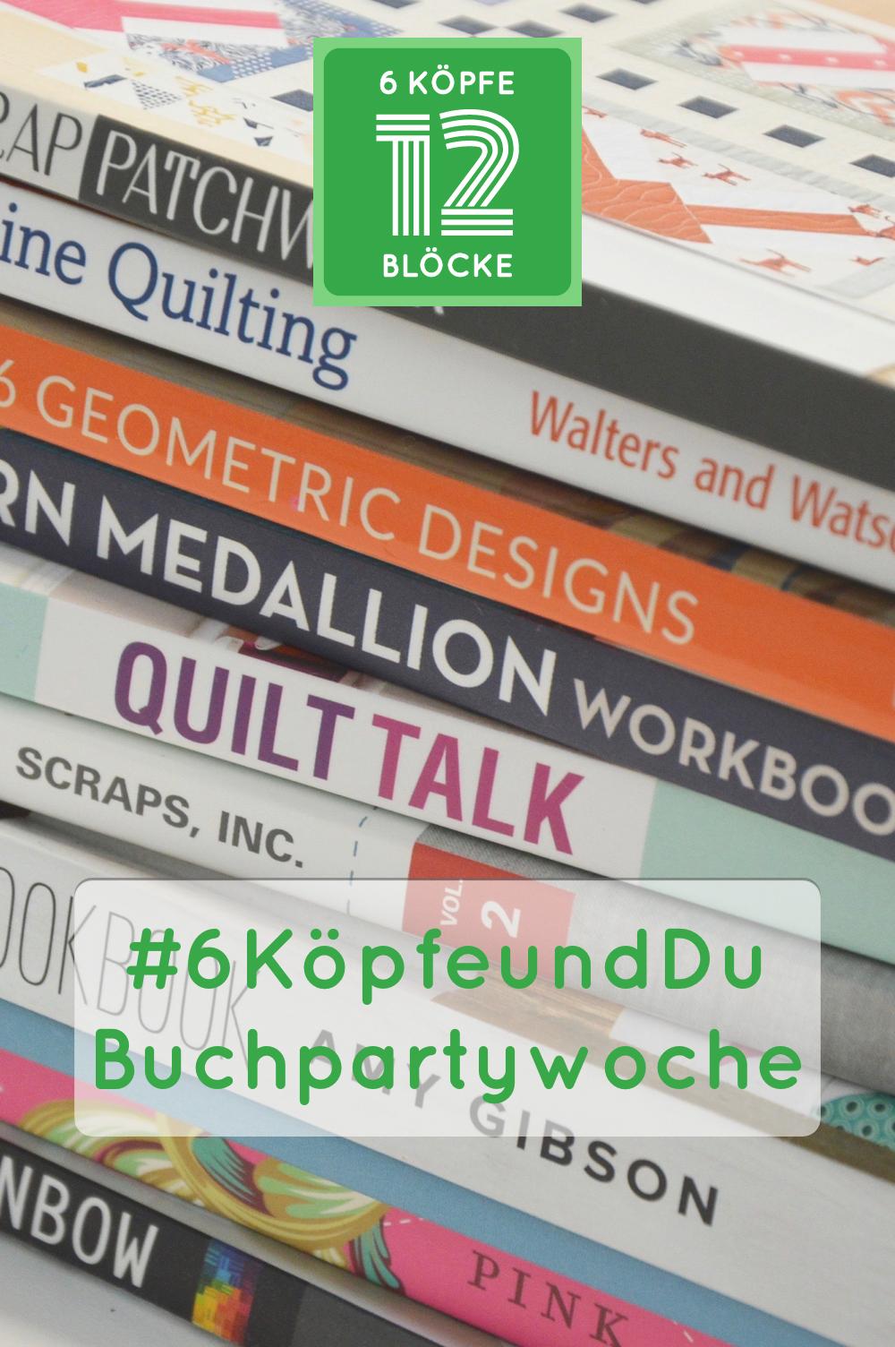 Buchpartywoche: Giveaway Quitessential und ein Fat Quarter Bundle