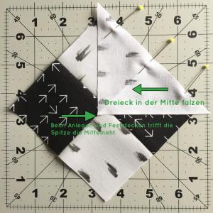 Dreieck falzen