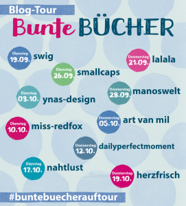 Blogtour bunte Buecher