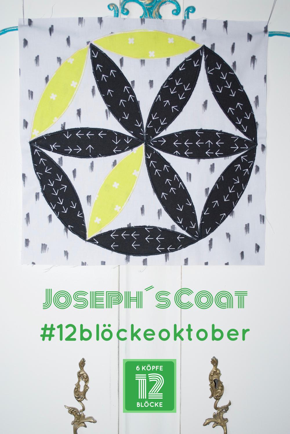 Block Oktober 6Köpfe-12Blöcke Joseph´s Coat