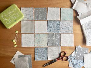 Quadrate zusammenstellen DIY gegen Novemberblues