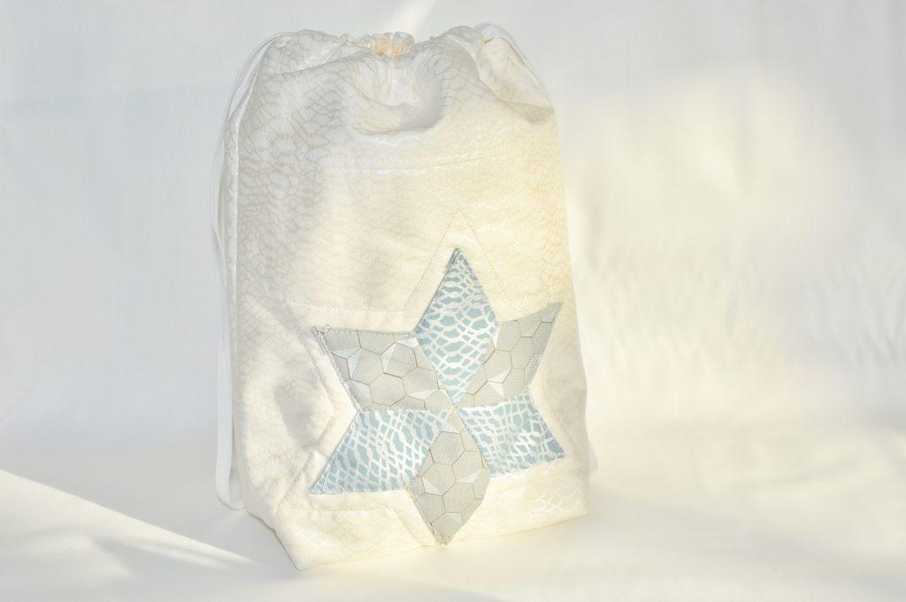 Geschenkbeutel mit Stern