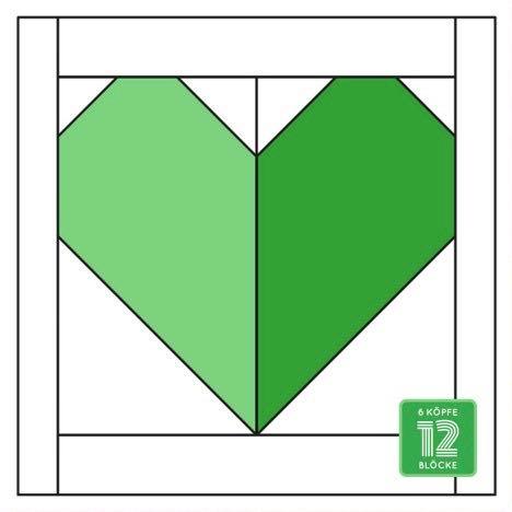 6Koepfe 12bloecke Herz