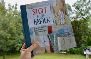 Stoff trifft Papier